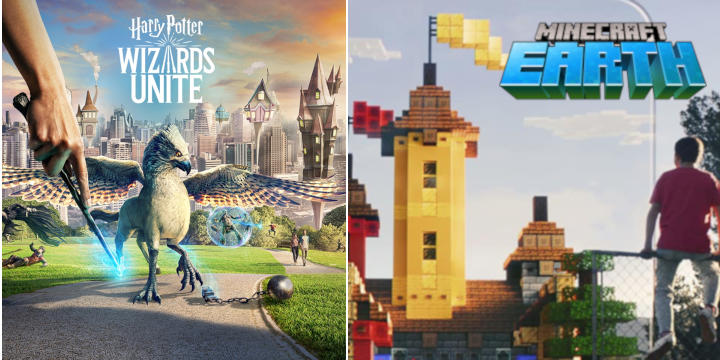 Harry Potter Wizards Unite et Minecraft Earth incontournables en 2019