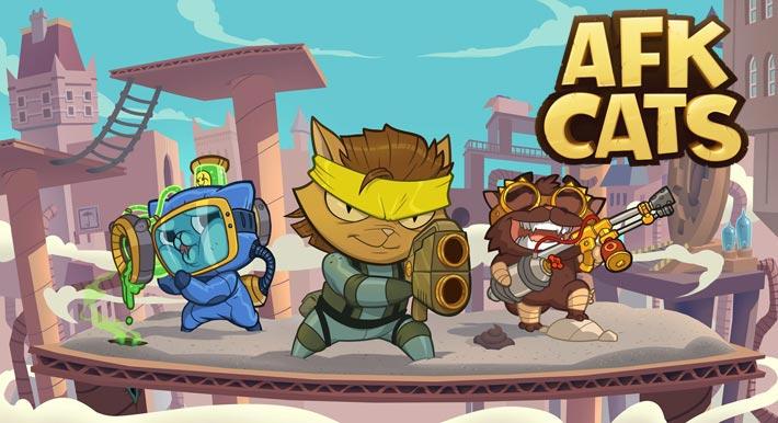 AFK Cats: Arène RPG Idle et Batailles de vos Héros