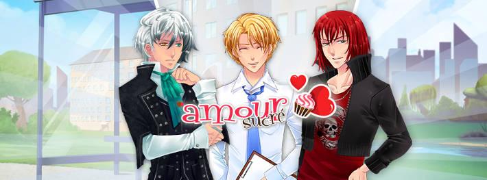 Lysandre, Nathaniel et Castiel dans Amour Sucré