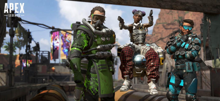 Jeu Apex Legends en perte de vitesse