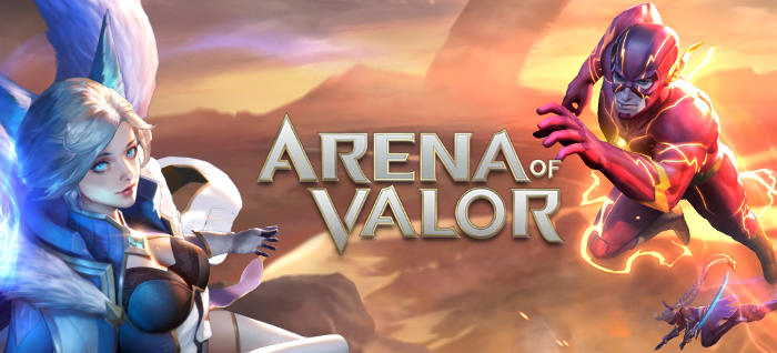 Jeu Arena of Valor sur Mobile et Nintendo Switch