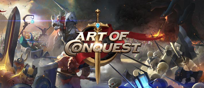 Art of Conquest: Dark Horizon un jeu de stratégie mobile