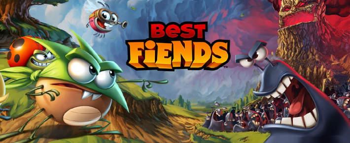 Jeu Best Fiends - Match-3 sur IOS, Android et Facebook