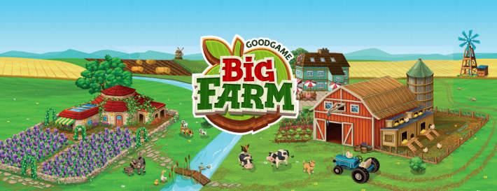 Big Farm : jeu de ferme signé Goodgame