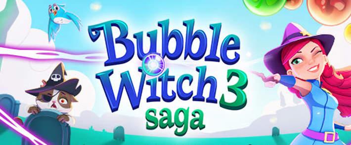 Jeu Bubble Witch 3 Saga