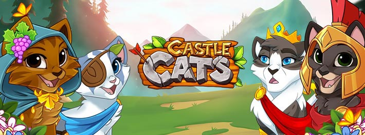Castle Cats - Idle Hero RPG, clicker et boule de poil
