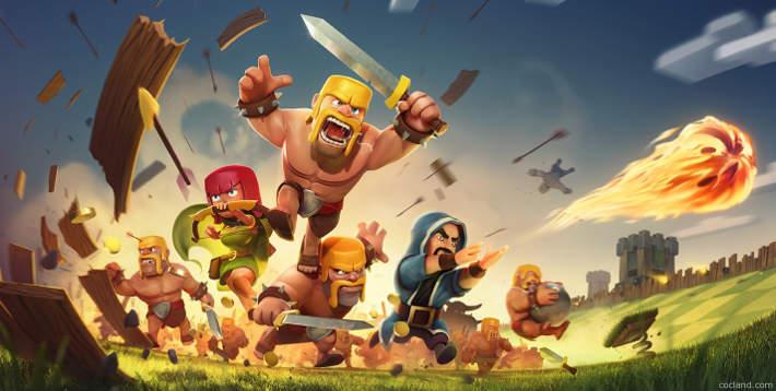 Clash of Clans : Jeu sur Iphone, Ipad et Android