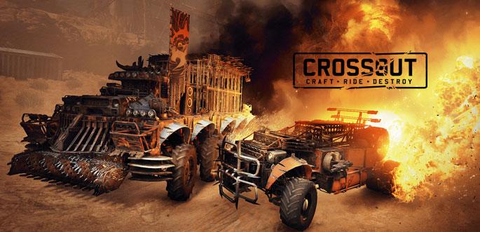Jeu Crossout sur PC, PS4 et Xbox One