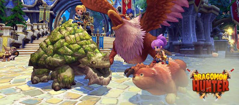 Dragomon Hunter : MMORPG sur PC