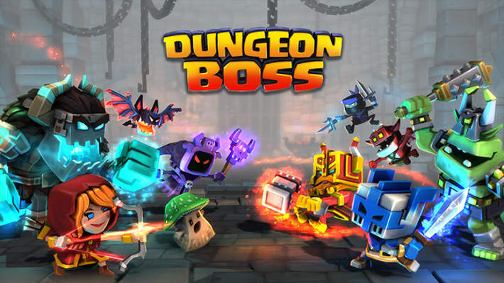 Dungeon Boss sur IOS et Android
