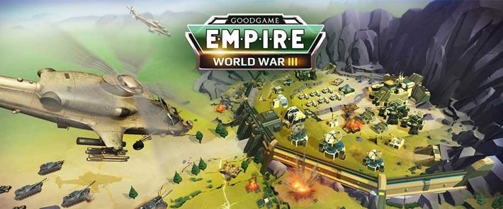 Empire: World War III, jeu de stratégie gratuit
