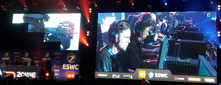 Rogue contre Fnatic Academy sur Counter Strike : ESWC PGW 16