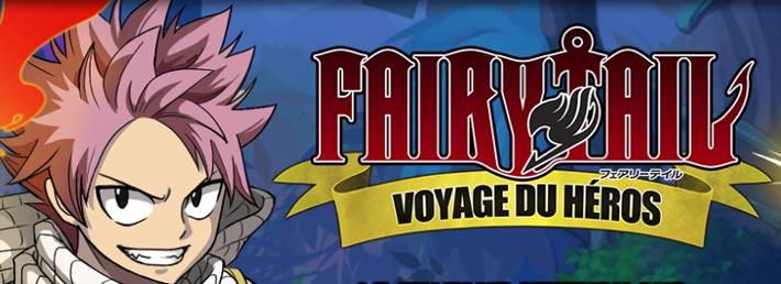 Fairy Tail, voyage du héros, un free to play sur navigateur