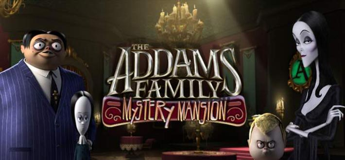 Addams Family: Mystery Mansion, la vie de château hanté