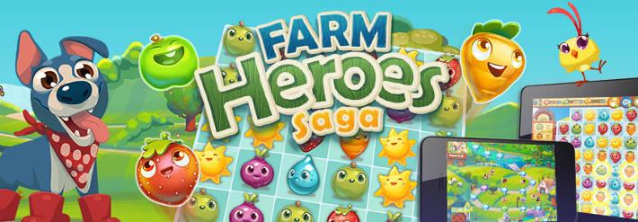 Jeu Farm Heroes Saga