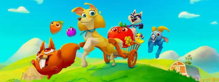 Farm Heroes Super Saga, direction la foire agricole