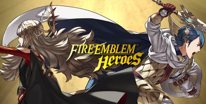 Jeu Fire Emblem Heroes sur Mobile
