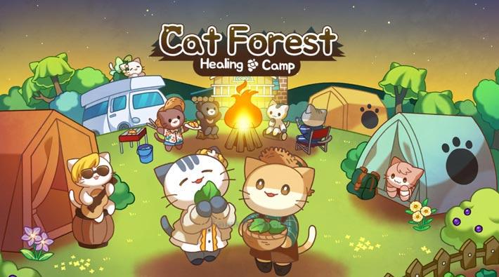 Forêt des Chats, jeu gratuit de gestion de camping pour matous