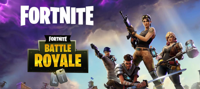 Jeu Fortnite coop et Fornite Battle Royale