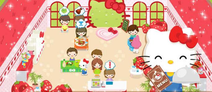 Jeu Hello Kitty Café de Rêve sur IOS et Android