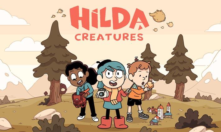 Hilda Créatures jeu mobile gratuit