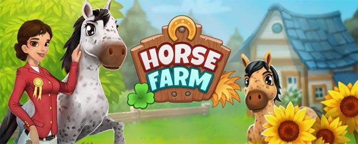 Horse Farm, jeu d'élevage de chevaux sur mobile