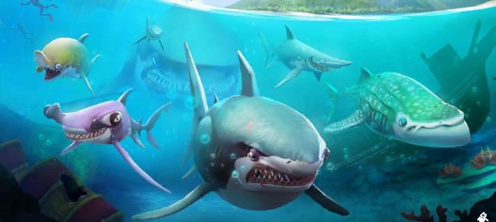 Jeu Hungry Shark World