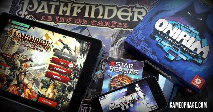 Les jeux de société portés sur mobiles et tablettes