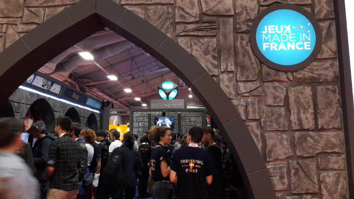 Espace jeux Made in France : Paris Games Week 2016