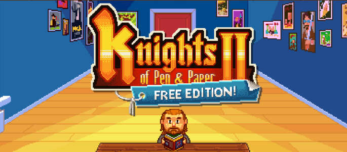 Jeu Knights of Pen & Paper II