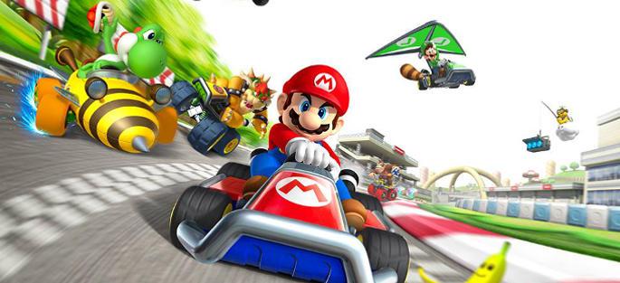Jeu Mario kart Tour sur Mobile