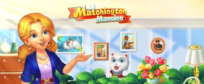 Matchington Mansion match 3 gratuit sur mobile