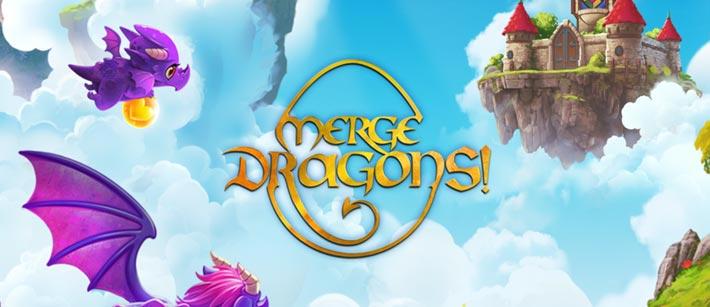 Merge Dragons, à mi chemin entre le match 3 et le jeu d'élevage de Dragons
