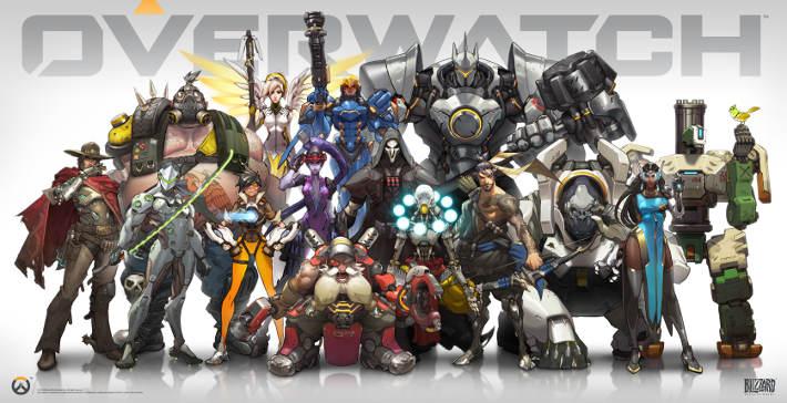 Les combattants d'Overwatch
