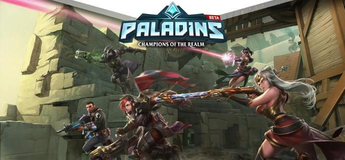 Jeu Paladins sur PC, PS4 et Xbox One