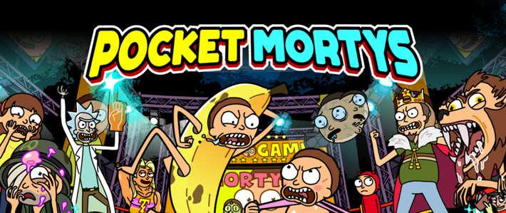 Jeu Pocket Mortys sur IOS et Android
