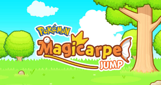 Jeu Pokemon : Magicarpe Jump