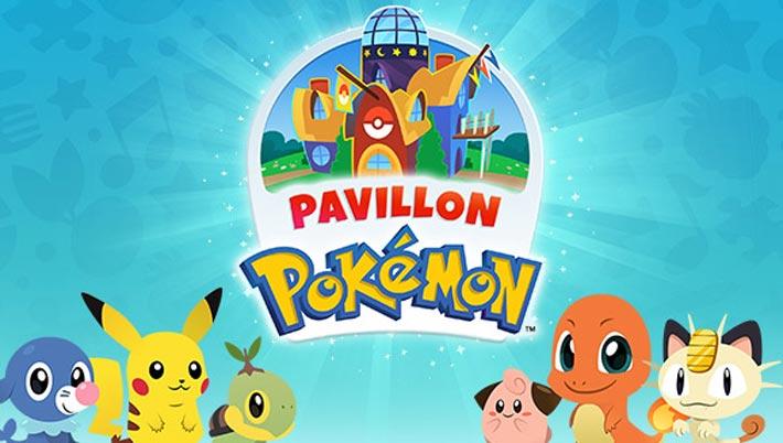 Pavillon Pokémon, jeu éducatif pour enfants de 3 à 5 ans