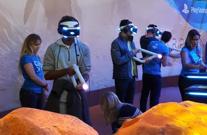FarPoint à la PGW 2016 : Playstation VR