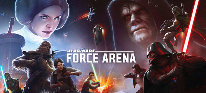 Jeu Star Wars : Force Arena sur IOS et Android