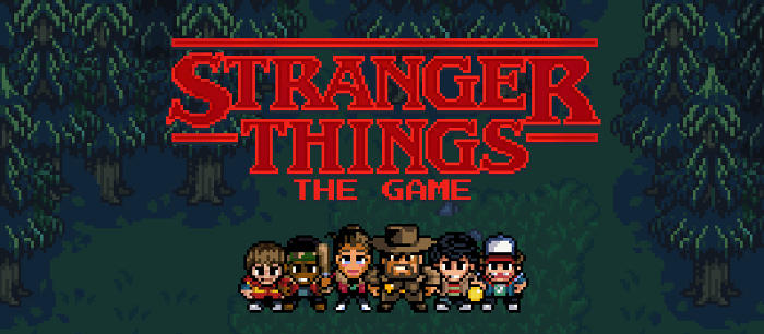 Jeu Stranger Things: The Game sur IOS et Android