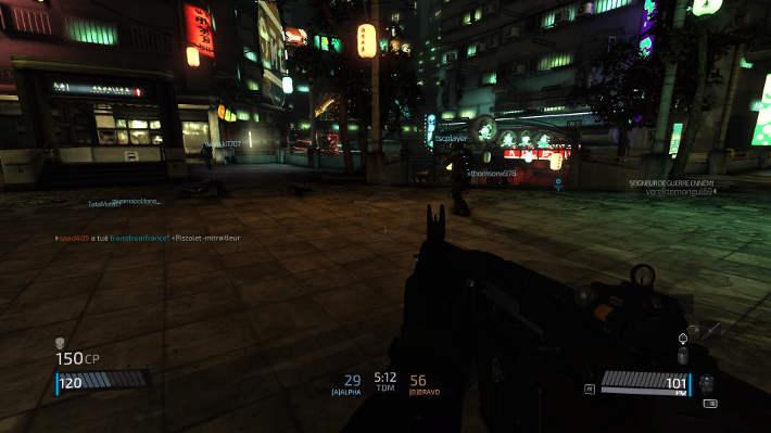 Match à mort dans BlackLigh: retribution