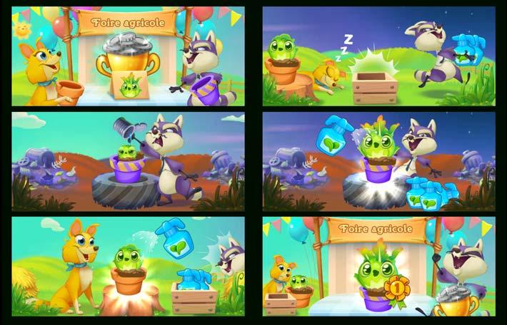 1 Images de Farm Heroes Super Saga. 2 Quelques applications Grand Public qui pourraient vous intéresser.Entrez Farm Heroes Super Sagadans le champs de recherche et appuyer sur le jeu afin d'entrer sur la fiche du jeu ou  deDécouvrez les 5 applications et jeux de 2018 à posséder