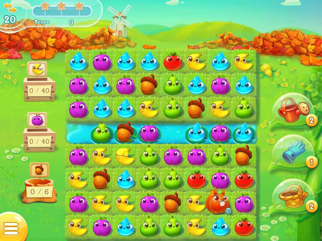 Un petit tour à la ferme ça vous tente ? C'est ce que nous propose les développeurs de chez King.com avec Farm Heroes Super Saga sur iOS et Android.