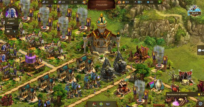 Cité Elfe dans Elvenar