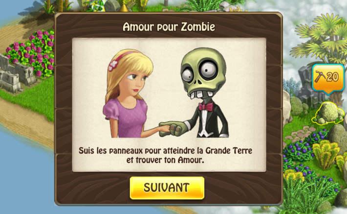 Les Zombies ont aussi droit à l'amour dans Zombie Castaways