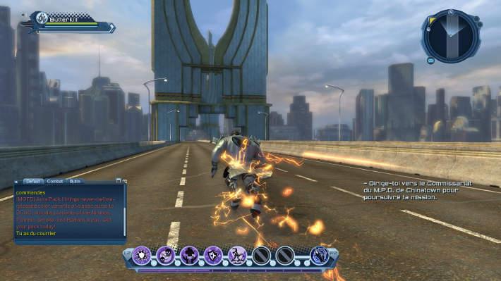 Utilisation de la super vitesse : DC Universe Online