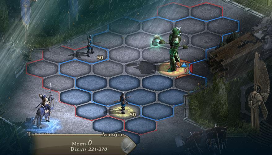 Combat sur Might & magic heroes online