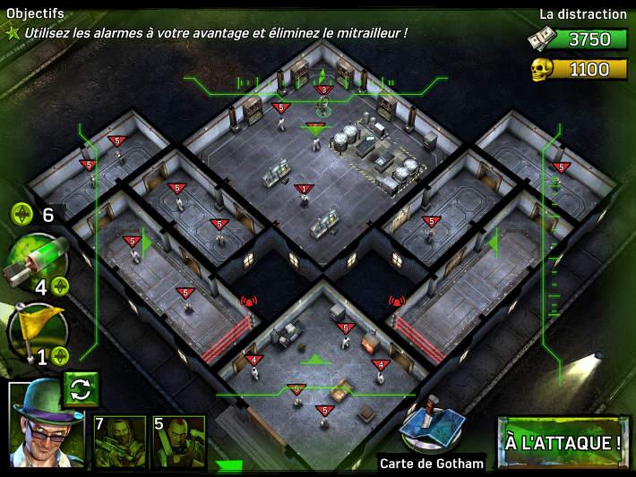Reconnaissance des lieux avant chaque mission