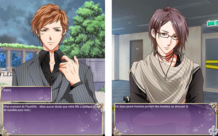 Kaoru et Kei, personnages de Psychixx Amour mystique